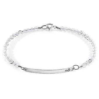 ANCHOR & CREW Reinheit Silber und Stein Armband