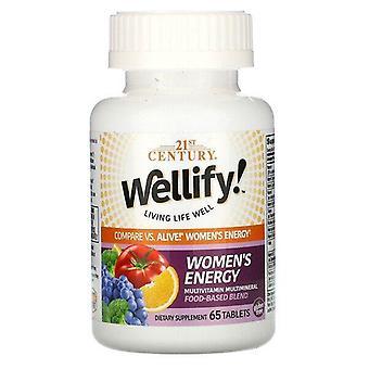 2000-talet, Wellify! Women's Energy, Multivitamin Multimineral, 65 Tabletter