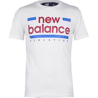 T-shirt New Balance Mens Line