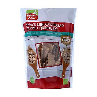 Snack-Mini Crispbread - Spelled and Quinoa Cookies 110 g