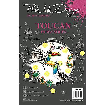 Pink Ink Designs Clear Stamp Toucan A5