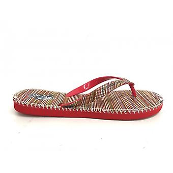 Slippers Unisex Us Polo Red Mod Nimas Print Multicolor Stripes Us16up28