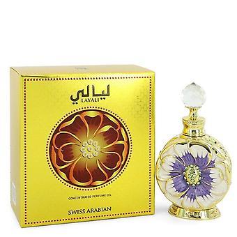 Sveitsin Arabian Layali väkevä haju vesi öljyä Sveitsin Arabian 0,5 oz keskittynyt haju vesi öljyä