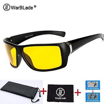 Nachtsichtgläser Polarisierte Blendlinse gelbe Sonnenbrille Herren Brille