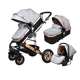 Baby Stroller Landscape, Winter Baby Can Seat And Recliner Umbrella Carts