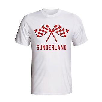 Sunderland Waving Flags T-shirt (white) - Kids