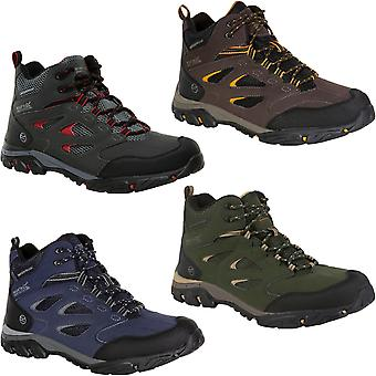 Regatta Mens Holcombe IEP Mid Rise Water Resistant Outdoor Walking Hiking Boots