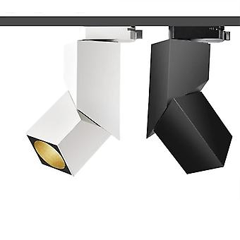 Art Cube Led Track Light, Adjustable Angle Rail Lamp Ceiling System For Indoor
