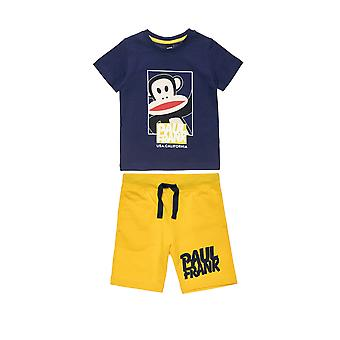 Alouette Boys' T-Shirt Set With Print And Shorts