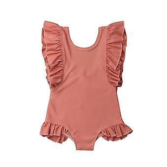 Vauvan röyhelö uima-asut, Uimapuku Bikinit Rantavaatteet