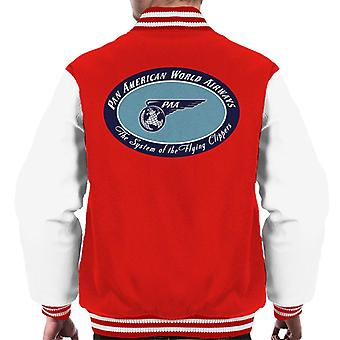 Pan Am The System Of The Flying Clippers Men's Varsity Jacket