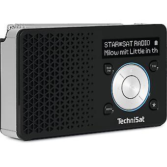 HanFei DIGITRADIO 1 - tragbares DAB+ Radio mit Akku (DAB, UKW, Lautsprecher, Kopfhreranschluss,