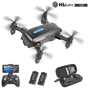 Taitettava mini drone 4k hd fpv kamera lapsille aikuisille wifi rc quadcopter lentoaika 40 minuuttia reaaliaikainen kuvansiirto