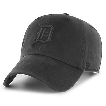 47 Brand Relaxed Fit Cap - CLEAN UP Detroit Tigers schwarz