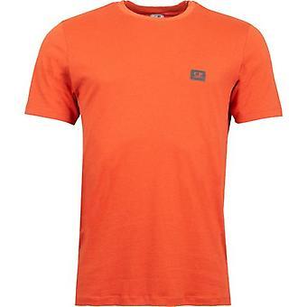 C.P. Företag Kortärmad Grundläggande Logotyp T-Shirt