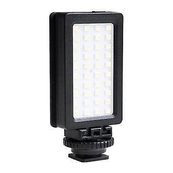 LED Video Light 5600K Dimmable LED Panel Portable Phone SLR Fill Light