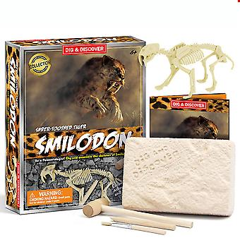 Smilodon Archeology Biology Digging And Excavation Kids Science Kits Educaition