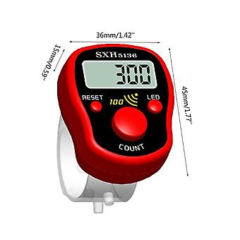 Lcd Magic Stitch Marker Row Finger Counter