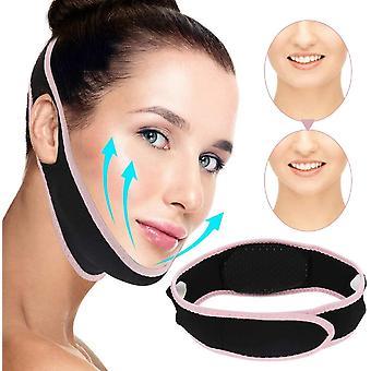 V Løftemaske, dobbelt hage reducer, V Line Mask, Face Slankende Mask, Smertefri Facial Løft Bandage For Kvinder Eliminering Sagging Hud Opstrammende Anti Aging