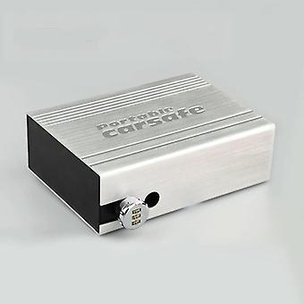 Automobilová bezpečnostní schránka s velkou kapacitou a multifunkční schránkou na klíče