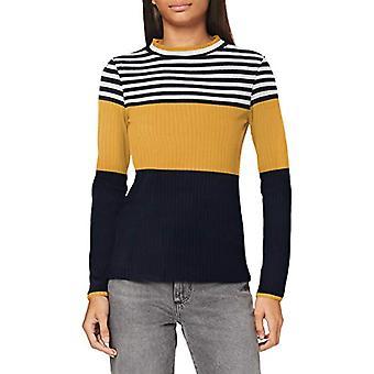 edc av Esprit 080CC1K314 T-Shirt, 720/mässing, Gul, S Kvinna