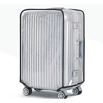 Cubierta impermeable de la maleta de pvc, cubierta protectora a prueba de polvo