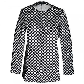 Latte Women's Long Sleeve Spotted Jacket