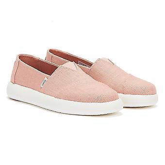 TOMS Alpargata Mallow Womens Light Pink Shoes
