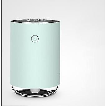 Vihreä kannettava ilmankostutin usb yövalolla 220ml makuuhuoneeseen az9211