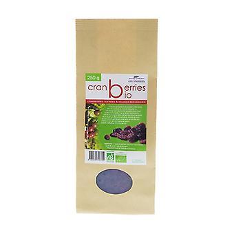 Organic dried sweet cranberries 250 g