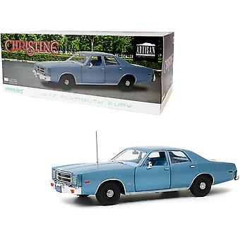 Christine 1983 Detective Rudolph Junkins 1977 Plymouth Furia 1:18 Luz verde 19082