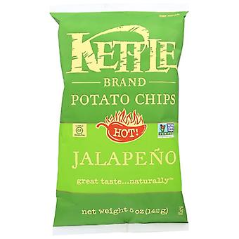 Kettle Foods Chip Pto Nat Jalapeno, Case of 15 X 5 Oz