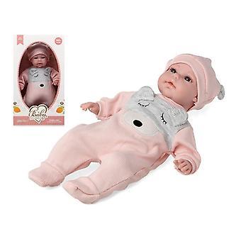 Vauvanukke ihana karhu vaaleanpunainen 115178