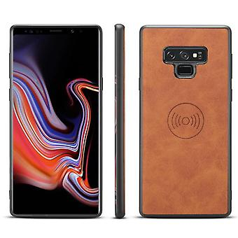 Leather Case For Huawei P20 Retro Adsorbable Phone Case