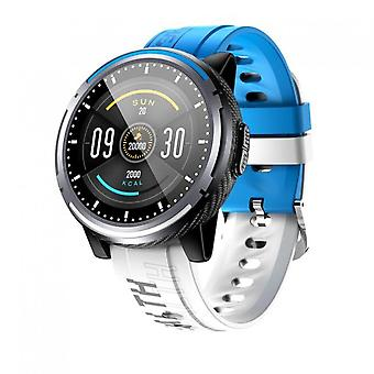 Ip67 Waterproof Unisex Bluetooth Smart Sports Watch With Heart Rate & Blood Pressure Monitor