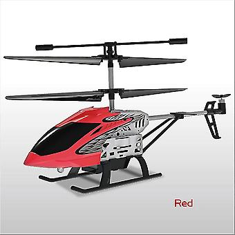 Hélicoptère Metal Mini RC Drone RC Helicopter (Rouge)