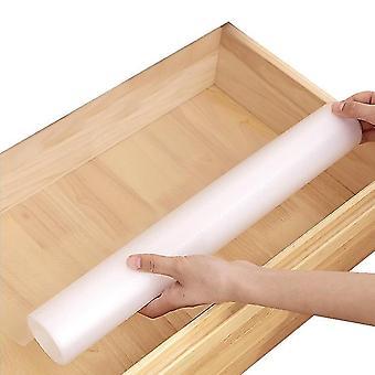 Shelf Liners Kitchen Cabinets Drawer Liner Waterproof Oil-proof Non-slip Eva Material(45*150cm)