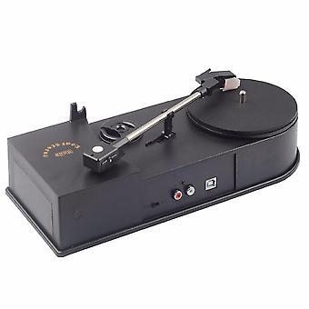 Usb hordozható mini vinyl lemezjátszó audiolejátszó vinyl lemezjátszó mp3/wav/cd konverter mini