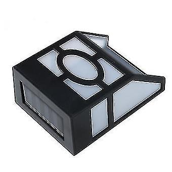 Aurinko ulkona sateenkestävä seinävalo, LED-parvekeruudun valo (Valkoinen valo)
