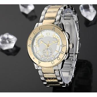 Young Classic Luxury Quartz Watchs With Steel Wristband
