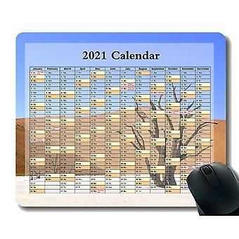 (260x210x3) Kalendář 2021, Roční období různých myš Colo Podložka pod myš, Mrak ve tvaru srdce v modrém nebe myši