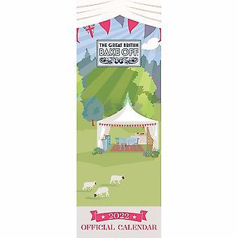 Otter House Great British Bake Off Slim Kalender 2022