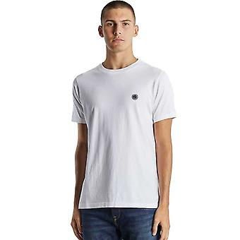Vacker grön Mitchell T-Shirt - Vit