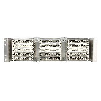 Rack Stainless Steel Telephone Patch Panel Krone Voice Module Vde Distribution