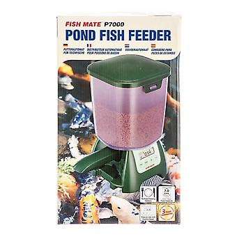 Fish Mate Pond Fish Feeder P7000 - Programable Holds Up To 6.5 lbs of food