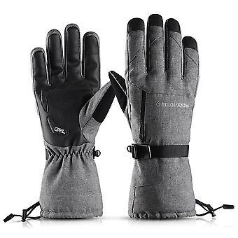 Ski Gloves Waterproof Snow Gloves Windproof Winter Thermal Gloves For Men Women