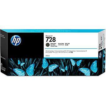 HP 728 300 ml mattsvart DesignJet-bläckpatron, Pigmentbaserat bläck, 300 ml, 1 styck