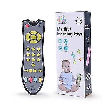 الاطفال الموسيقية التلفزيون لعبة التحكم عن بعد مع الضوء والصوت
