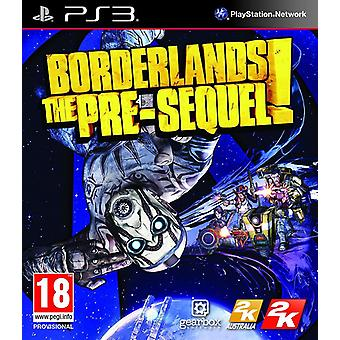 Borderlands The Pre-sequel! PS3 Game