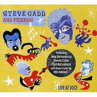 Steve Gadd & Friends - Live at Voce [CD] USA import
